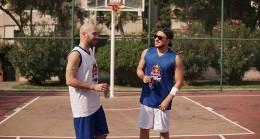 Ben Fero ve Anıl Piyancı basketbolda birbirlerine meydan okudular