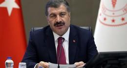 Sağlık Bakanı Koca vaka sayılarındaki düşüşe dikkat çekti