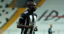 Beşiktaş'ın golcüsü Aboubakar'ın acı günü