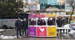 Türkiye Değişim Partisi Şişli'de halkın içini ısıttı