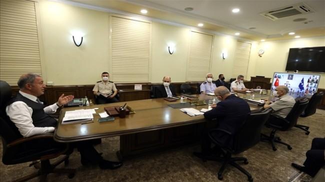 Millî Savunma Bakanı Hulusi Akar: 1 Ocak'tan Bugüne Kadar 1.070 Terörist Etkisiz Hâle Getirildi