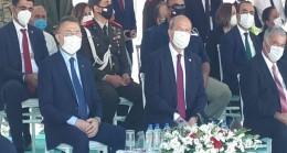 Cumhurbaşkanı Ersin Tatar, KKTC Sulama İletim Tüneli Işık Görünme Töreni'ne katıldı