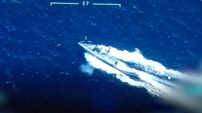 DENİZKURDU-2021 Tatbikatı'nda Silahlı İnsansız Deniz Aracı (SİDA) İlk Atışını Yaptı, Hedefi Tam İsabetle Vurdu