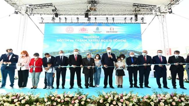 Bahçeşehir Demiröz Eğitim ve Yaşam Vadisi Açıldı