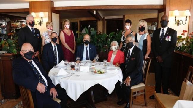 Cumhurbaşkanı Tatar, Kraliyet İngiliz Lejyonu 100. yıl kutlama yemeğine katıldı
