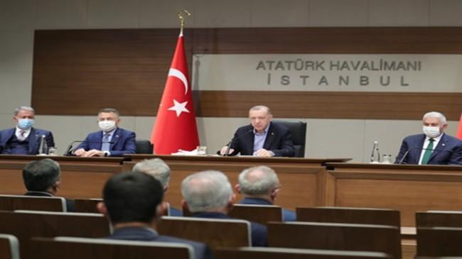 """""""NATO Zirvesi'nde müttefiklerimizle birlikte ittifaka verdiğimiz önemin altını bir kez daha çizeceğiz"""""""