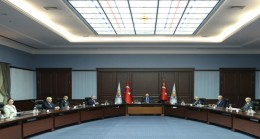 Cumhurbaşkanı Erdoğan, Yeni Azerbaycan Partisi Genel Başkanvekili Budaqov ve beraberindeki heyeti kabul etti