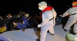 Türk Kara Sularına İtilen 16 Sığınmacı Kurtarıldı