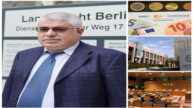 Almanya'da Televizyon Vergisi GEZ Avrupa Adalet Divanı ve Avrupa İnsan Hakları Mahkemesi yolcusu…!!!