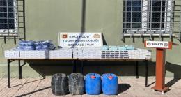 Hudut Kartallarımız Arama-Tarama Faaliyetleriyle Kaçakçılara Geçit Vermiyor