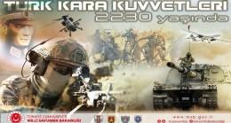 Millî Savunma Bakanı Hulusi Akar'ın Kara Kuvvetlerimizin 2230'uncu Kuruluş Yıl Dönümü Mesajı