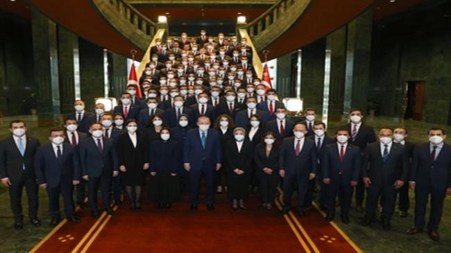 Cumhurbaşkanı Erdoğan, Kaymakam adaylarını kabul etti