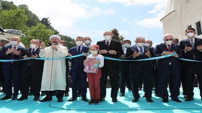 Cumhurbaşkanı Erdoğan, Zonguldak Uzun Mehmet Camii'nin açılışını gerçekleştirdi
