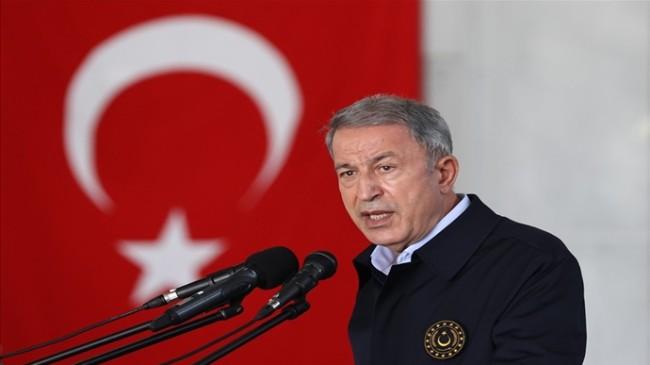 """Millî Savunma Bakanı Hulusi Akar: """"Nereye Kaçarlarsa Kaçsınlar Terörü Bitireceğiz"""