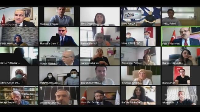 """Bakan Ergüneş: """"Türk İşaret Dili işleyiş programını e-devlet sistemine geçirmeyi düşünüyoruz"""""""