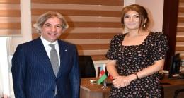 Bakan Yardımcısı Ahmet Misbah Demircan , Azerbaycan Ordusunu 103. kuruluş yıl dönümü dolayısıyla tebrik etti