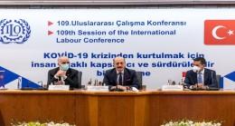 Bakan Bilgin, 109'uncu Uluslararası Çalışma Konferansı Kapsamındaki Toplantıya Katıldı