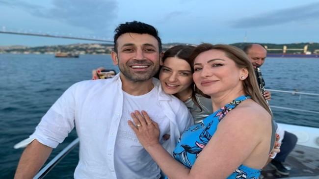 Ünlü isimler Pınar Kaşgören'in doğum gününde buluştu