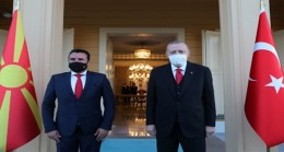 Cumhurbaşkanı Erdoğan, Makedonya Başbakanı Zaev'i kabul etti