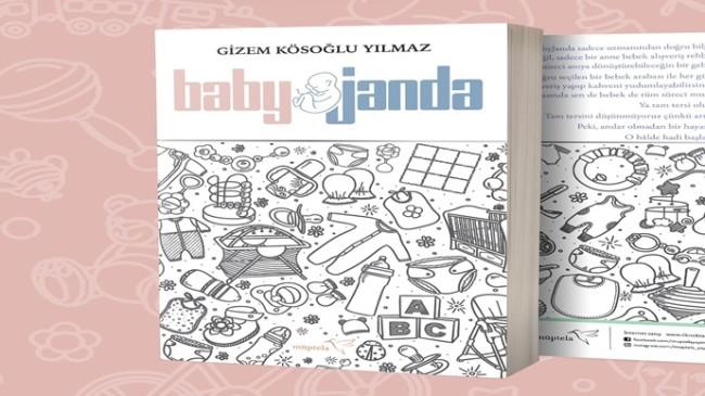 """BabyJanda"" ajanda kitap raflarda yerini aldı"