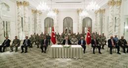 Cumhurbaşkanımız  Erdoğan, Azerbaycan Görev Grubundaki Askerlerimizi Kabul Etti