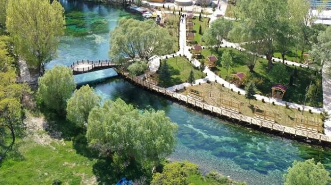 Doğal Akvaryum Gökpınar Gölü Ziyaretçilerini Ağırlamaya Hazırlanıyor