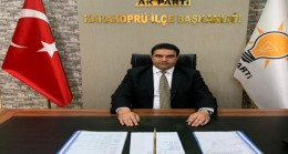 AK Parti Karaköprü İlçe Başkanı Sait AĞAN' dan Kurban Bayramı mesajı