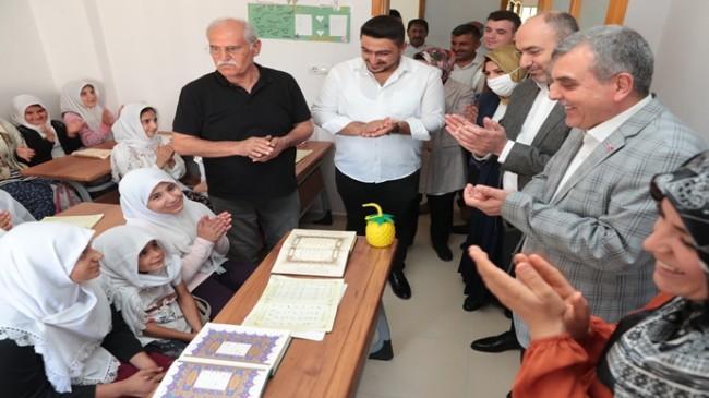 BAŞKAN BEYAZGÜL HAFTA SONUNU BOZOVA'DA GEÇİRDİ