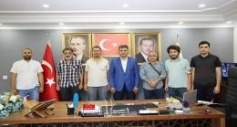 Akınspor' dan AK Parti'ye ziyaret