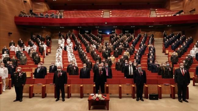 Millî savunma Bakanı Hulusi Akar, Millî Savunma Üniversitesindeki Törende Konuştu