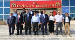 BAŞKAN ÇALIK'TAN ERZİNCAN'A ZİYARET