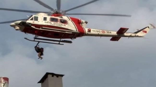 Sahil Güvenlik Komutanlığı Mahsur Kalan 336 Kişiyi Kurtardı