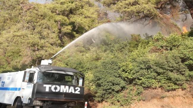 Antalya Ve Muğla'daki Yangınların Söndürülmesi İçin 112 Toma Görev Yapıyor