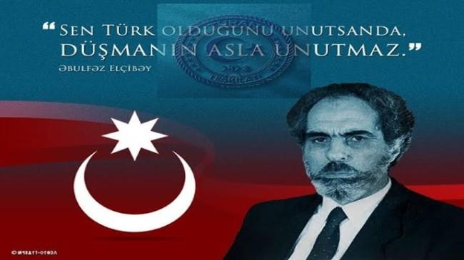 BAŞKAN  YÜRÜKSOY' DAN  AZERBAYCAN'IN 2.CUMHURBAŞKANI EBULFEZ ELÇİBEY'İN ÖLÜM YILDÖNÜMÜ MESAJI