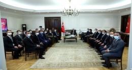 Bakan Süleyman Soylu, Mülkiye Müfettişlerini Kabul Etti